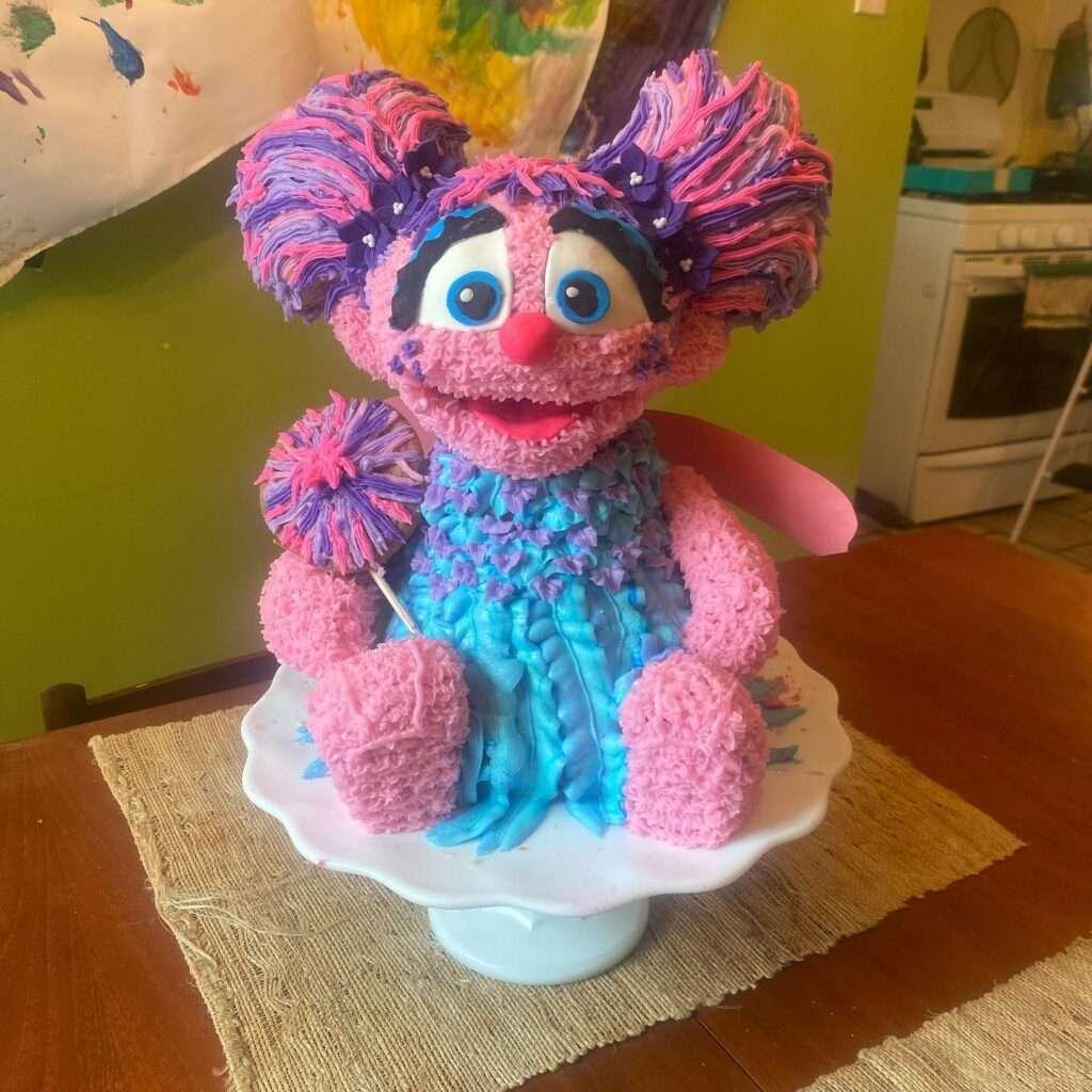 Abby Cadabby Cake by Amy Gentry